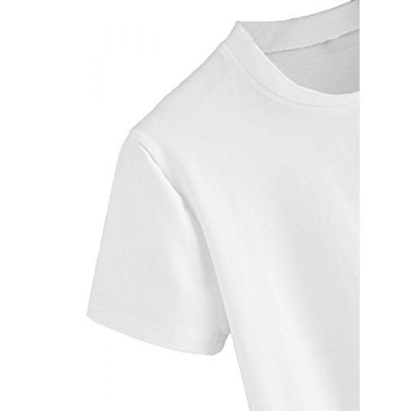 SweatyRocks Graphic Tshirt 4 Women's Casual Short Sleeve Crew Neck Basic Crop Top T Shirts