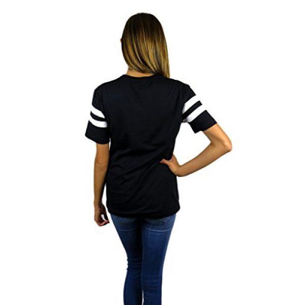 Disney Graphic Tshirt 3 Womens Minnie Mouse Varsity Football Tee