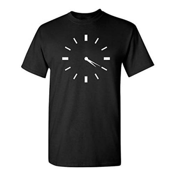 Feelin Good Tees Graphic Tshirt 1 420 Clock Novelty Weed Graphic Sarcastic Funny T Shirt