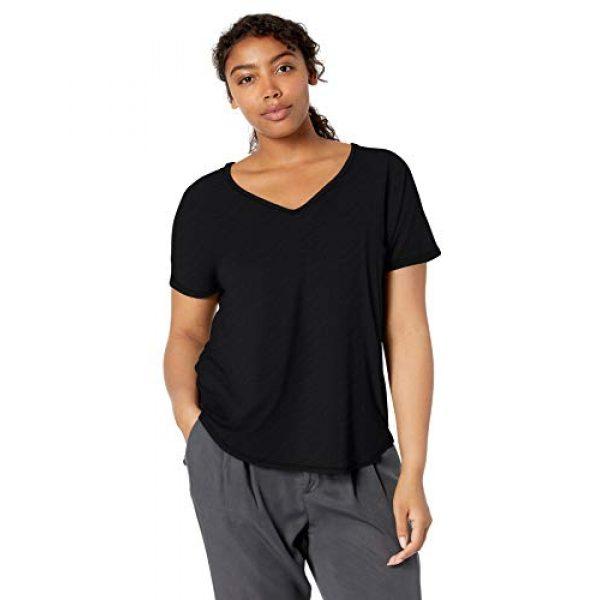 Daily Ritual Graphic Tshirt 3 Amazon Brand - Daily Ritual Women's Jersey Short-Sleeve V-Neck Longline T-Shirt