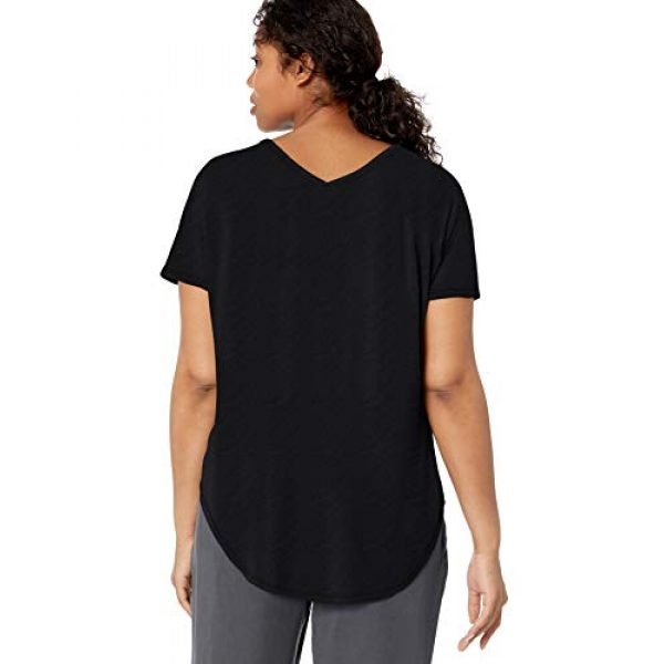 Daily Ritual Graphic Tshirt 4 Amazon Brand - Daily Ritual Women's Jersey Short-Sleeve V-Neck Longline T-Shirt