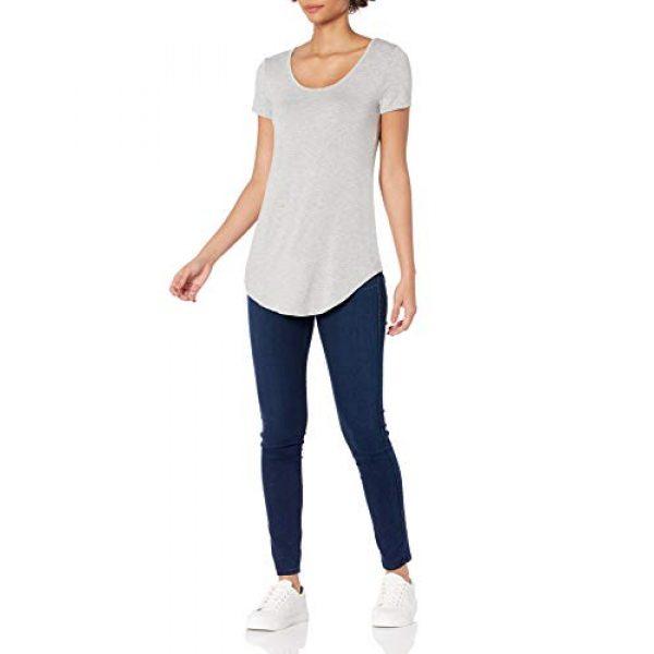 Daily Ritual Graphic Tshirt 5 Amazon Brand - Daily Ritual Women's Jersey Short-Sleeve Scoop-Neck Longline T-Shirt