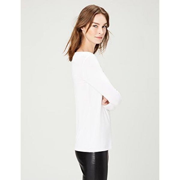 Daily Ritual Graphic Tshirt 4 Amazon Brand - Daily Ritual Women's Jersey Long-Sleeve Scoop Neck T-Shirt