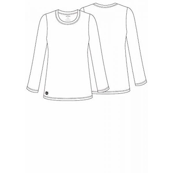Sivvan Graphic Tshirt 2 Women's Comfort Long Sleeve T-Shirt/Underscrub Tee