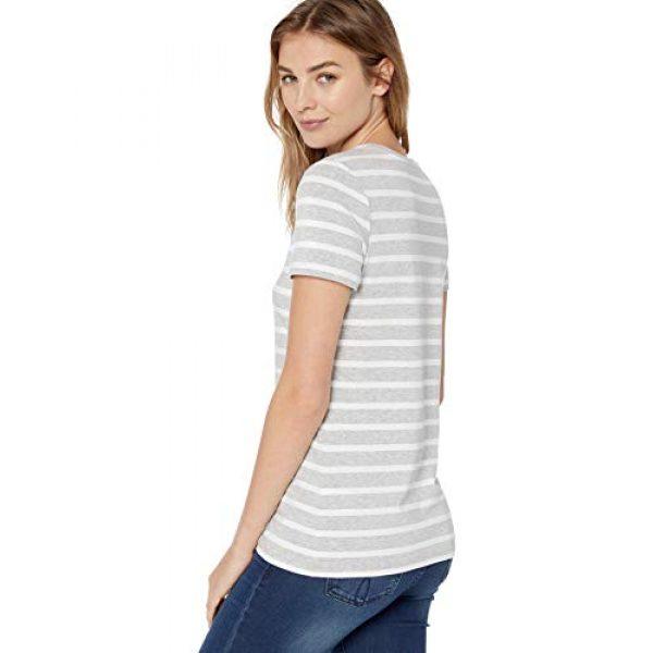 Amazon Essentials Graphic Tshirt 3 Women's 2-Pack Classic-Fit Short-Sleeve Crewneck T-Shirt