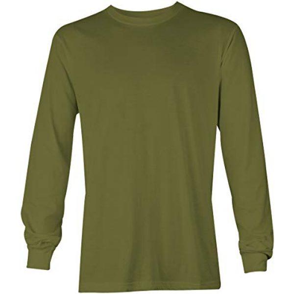 Tcombo Graphic Tshirt 2 Distressed Black USA Flag - United States Unisex Long Sleeve Shirt
