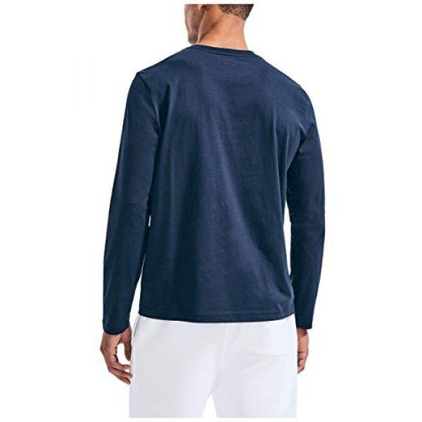 Nautica Graphic Tshirt 3 Men's J-Class Logo Long Sleeve T-Shirt