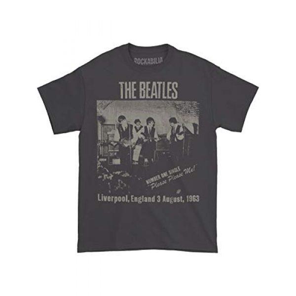 Beatles Graphic Tshirt 2 Men's Cavern Club T-Shirt Grey
