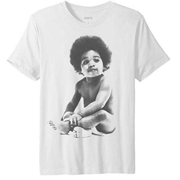 Xqste Graphic Tshirt 1 Ready to Die Baby Notorious B.I.G Biggie Hip Hop Unisex T-Shirt
