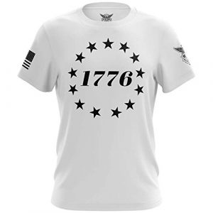 We The People Holsters Graphic Tshirt 1 1776 Betsy Ross Flag - Short Sleeve Unisex T-Shirt