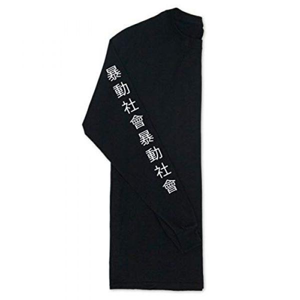Riot Society Graphic Tshirt 6 Panda Rose Mens Long Sleeve T-Shirt - XXL