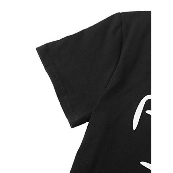 MakeMeChic Graphic Tshirt 4 Women's Graphic Cat Print Tee Cute Round Neck Short Sleeve Lounge T Shirt Tops