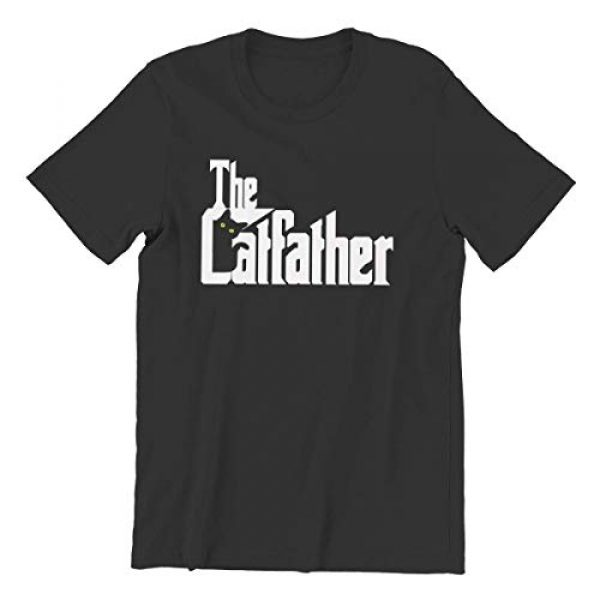 VWMYQ Graphic Tshirt 1 Mens The Cat Father Novelty T-Shirt Cat and Owner Matching Tees for Men