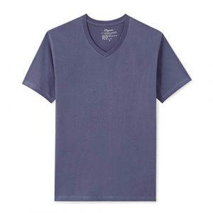 Organic Signatures Graphic Tshirt 1 Men's Short-Sleeve V-Neck 100% Organic Cotton T-Shirt