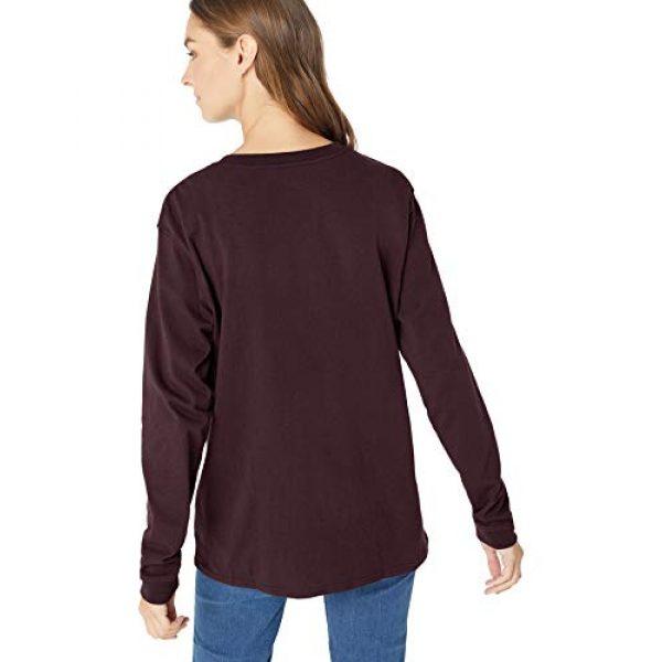 Carhartt Graphic Tshirt 2 Women's K126 Workwear Pocket Long Sleeve T-Shirt (Regular and Plus Sizes)