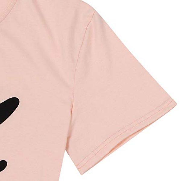 TAOHONG Graphic Tshirt 4 Hello Forty Tshirt Women 40th Birthday Shirts Cute Print Short Sleeve Graphic Tee Top Ladies 40th Birthday Shirt