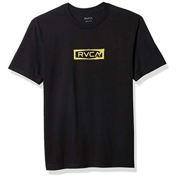 RVCA Graphic Tshirt 1 Boys Boys Boundary Short Sleeve T-Shirt