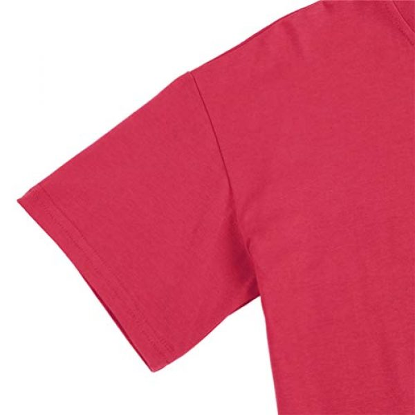 Binshre Graphic Tshirt 5 Women Love Dandelion Graphics Shirt Heart Print Novelty Short Sleeve Tops Tees