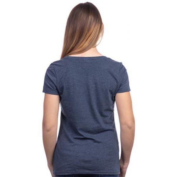 Ann Arbor T-shirt Co. Graphic Tshirt 4 Rosie The Riveter, We Can Do It   Feminist Rosey Rosy V-Neck T-Shirt for Women