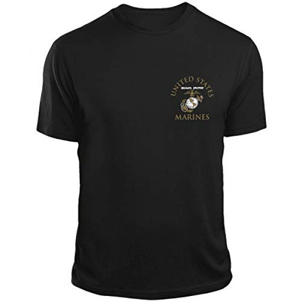 Military Gift Shop Graphic Tshirt 4 USMC Shirt - What Doesnt Kill You Makes You Stronger - Marine Corps T-Shirt