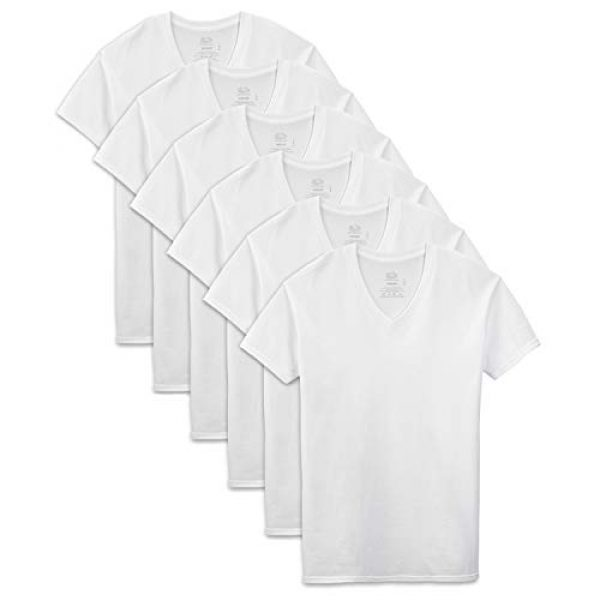 Fruit of the Loom Graphic Tshirt 1 Men's Stay Tucked V-Neck T-Shirt