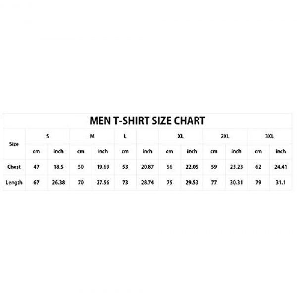 VoPee Graphic Tshirt 6 Mens Tee Dont Funny Letters Levy Graphic T-Shirt