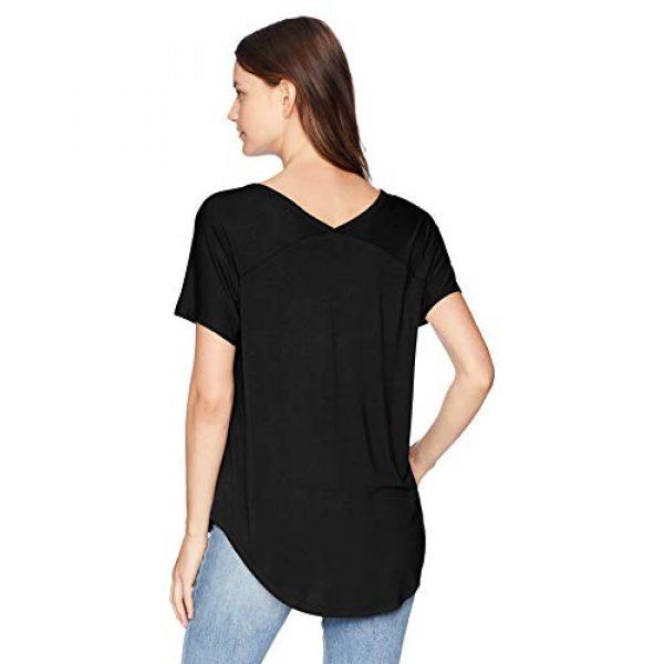 Daily Ritual Graphic Tshirt 2 Amazon Brand - Daily Ritual Women's Jersey Short-Sleeve V-Neck Longline T-Shirt