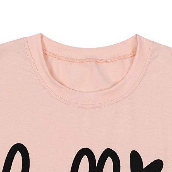 TAOHONG Graphic Tshirt 3 Hello Forty Tshirt Women 40th Birthday Shirts Cute Print Short Sleeve Graphic Tee Top Ladies 40th Birthday Shirt