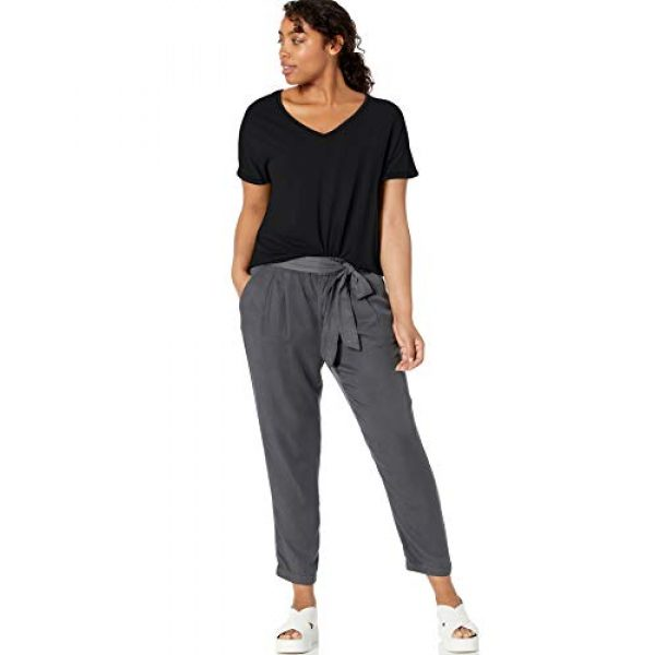 Daily Ritual Graphic Tshirt 5 Amazon Brand - Daily Ritual Women's Jersey Short-Sleeve V-Neck Longline T-Shirt