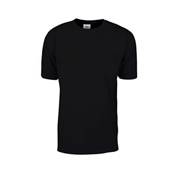 Shaka Wear Graphic Tshirt 1 Men's T Shirt - Max Heavyweight Cotton Short Sleeve Crew Neck Plain Tee Top Tshirts Regular Big Tall Size S-7XL