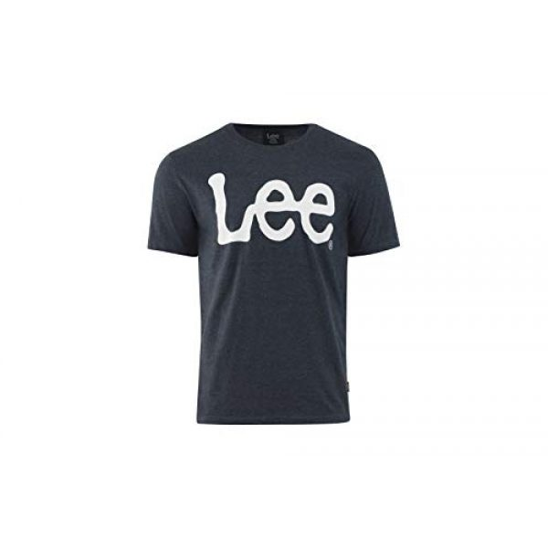 Lee Graphic Tshirt 1 Mens Graphic T-Shirt | Short Sleeve, Crew Neck, Breathable Cotton, Tagless, Printed Tee | S - XXL