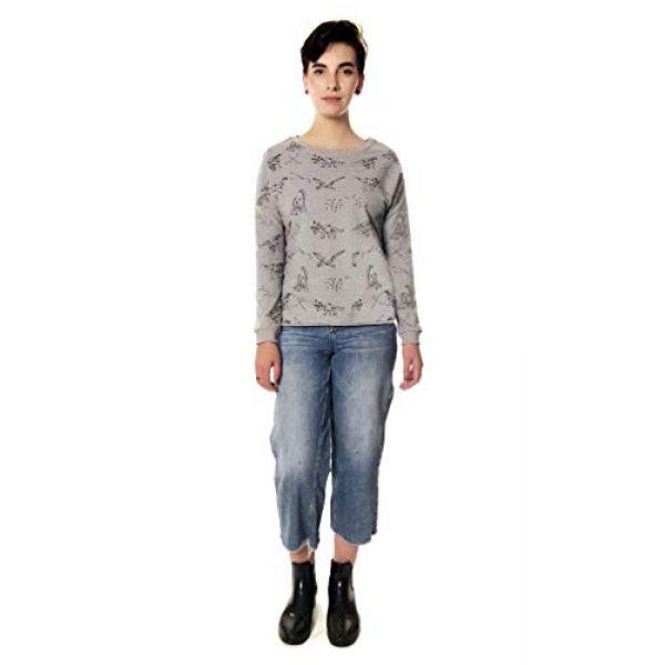 LAVIELENTE FASHION Graphic Tshirt 5 LaVieLente Women's Cotton Long Sleeve Graphic Sweatshirt Crewneck Pullover