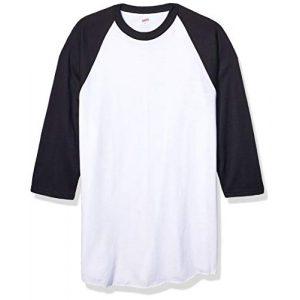 Soffe Graphic Tshirt 1 Mens Classic Raglan 3/4 Sleeve T-Shirt