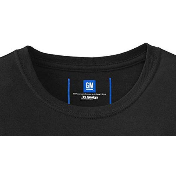 JH DESIGN GROUP Graphic Tshirt 5 JH Design Men's Chevy Corvette T-Shirts Collage 3 Colors Short Sleeve Crew Neck Shirt
