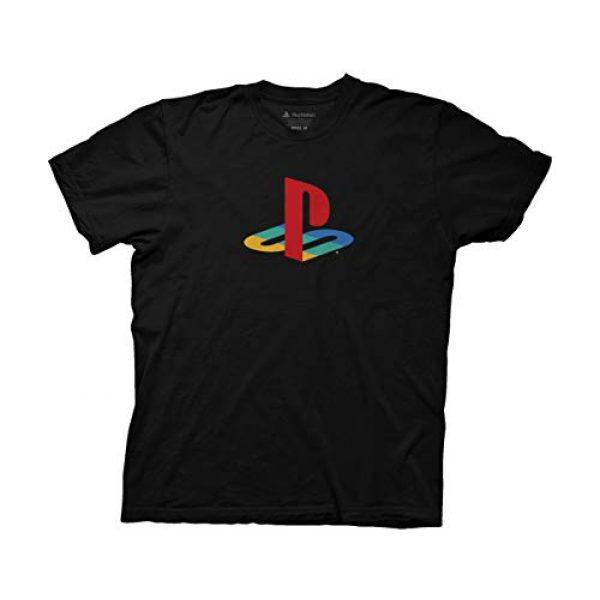 Ripple Junction Graphic Tshirt 1 Playstation Logo Adult T-Shirt