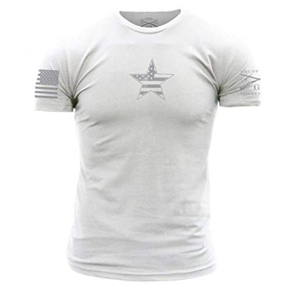 Grunt Style Graphic Tshirt 1 Basic American Star - Men's T-Shirt
