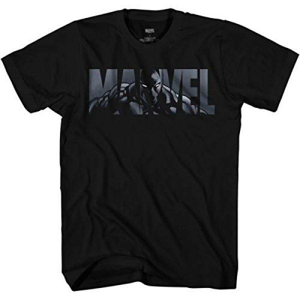 Marvel Graphic Tshirt 1 Logo Black Panther Avengers Super Hero Adult Tee Graphic T-Shirt for Men Tshirt Clothing Apparel