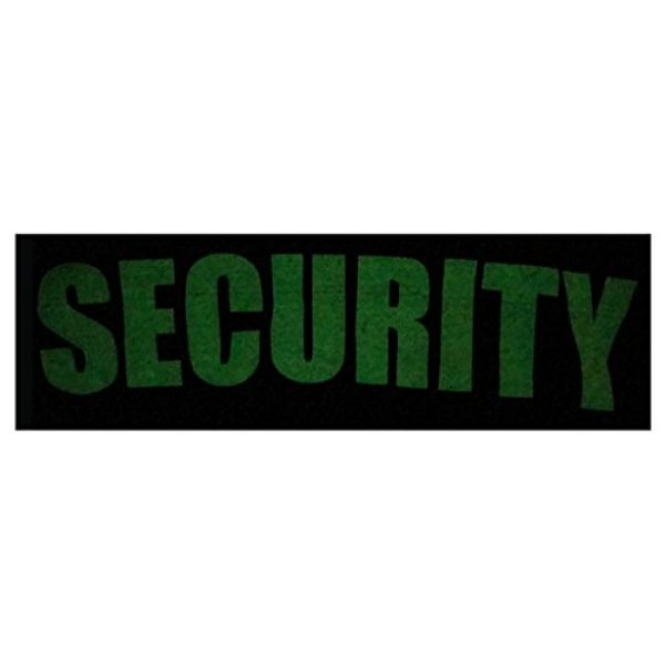 Ann Arbor T-shirt Co. Graphic Tshirt 5 Security | Event Safety Guard Two Side Print Black w/Tall Sizes Unisex T-Shirt
