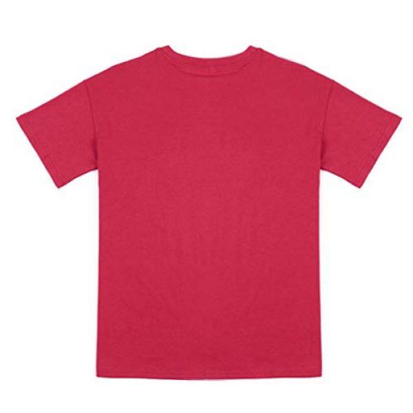 Binshre Graphic Tshirt 3 Women Love Dandelion Graphics Shirt Heart Print Novelty Short Sleeve Tops Tees