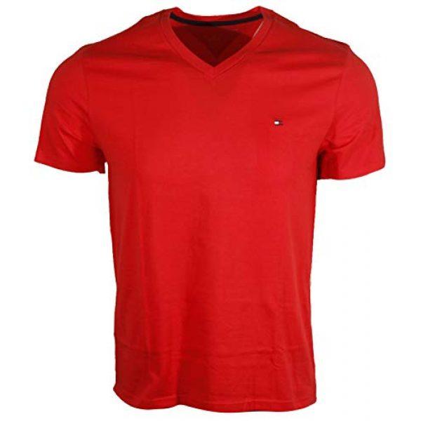 Tommy Hilfiger Graphic Tshirt 1 Men's V-Neck Classic Fit Logo T-Shirt