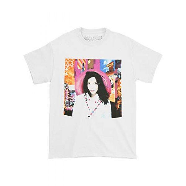 Global Graphic Tshirt 2 Bjork Men's Post T-Shirt White