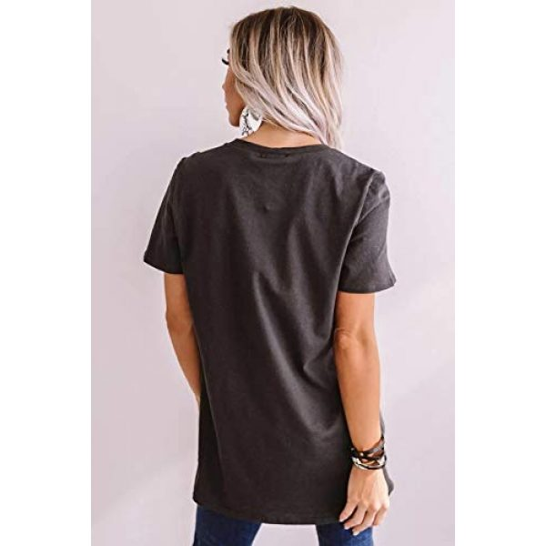 DUTUT Graphic Tshirt 3 Womens Be Kind T Shirt Summer Letter Print Short Sleeve Loose Tops Inspirational Graphic Tees