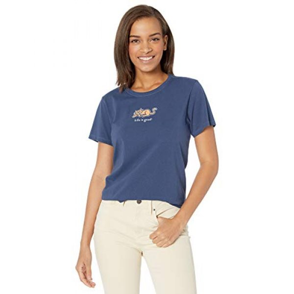 Life is Good Graphic Tshirt 1 Women's Womens Vintage Crusher T-Shirt