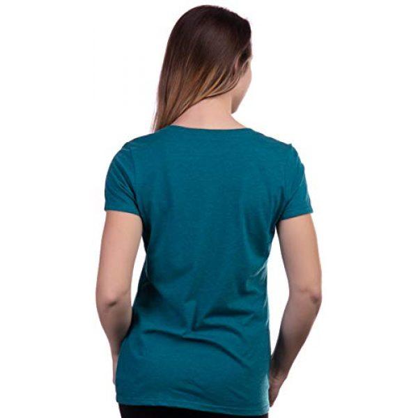 Ann Arbor T-shirt Co. Graphic Tshirt 4 Pride & Prejudice | Jane Austen 1813 Romance Book Club Reader Reading Women's V-Neck T-Shirt Top
