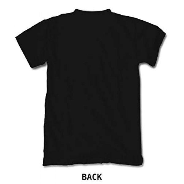 Riot Society Graphic Tshirt 3 Skull Rose Embroidered Men's T-Shirt - Black, Medium