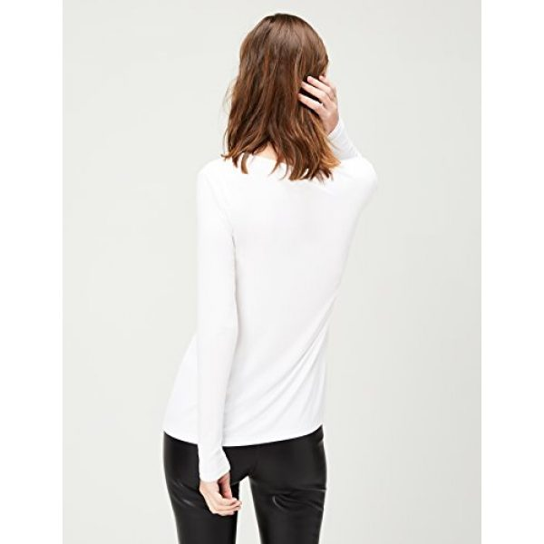 Daily Ritual Graphic Tshirt 3 Amazon Brand - Daily Ritual Women's Jersey Long-Sleeve Scoop Neck T-Shirt