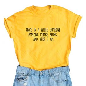 BLACKMYTH Graphic Tshirt 1 Women's Graphic Funny T Shirt Cute Tops Teen Girl Tees