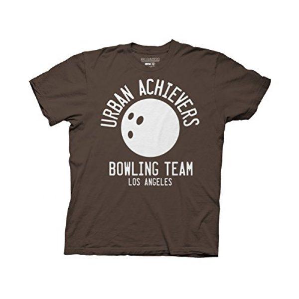 Ripple Junction Graphic Tshirt 1 Big Lebowski Urban Achievers Bowling Adult T-Shirt