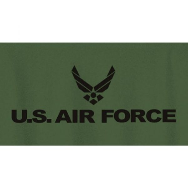 ZeroGravitee Graphic Tshirt 2 Air Force Long Sleeve T-Shirt in Military Green