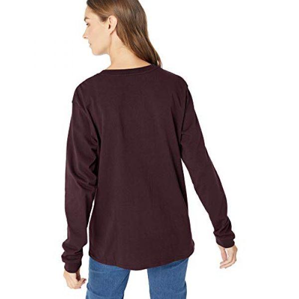 Carhartt Graphic Tshirt 3 Women's K126 Workwear Pocket Long Sleeve T-Shirt (Regular and Plus Sizes)